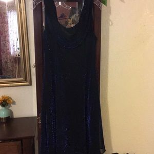 Shimmering party dress
